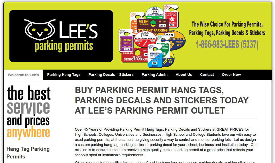 Lee's Parking Permit Outlet Hilton Head SC